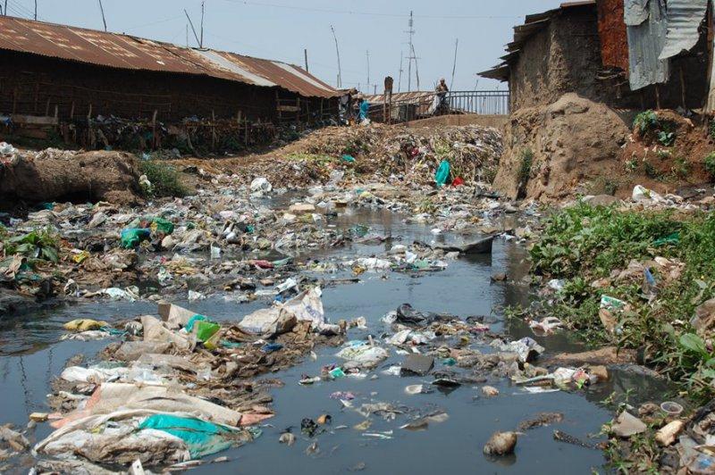 A Selection Of Conditions Amp Volunteers In Kibera Kibera Uk